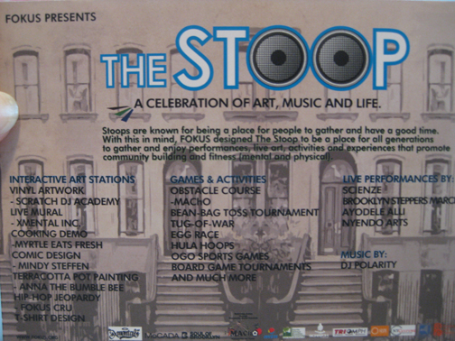 The Stoop Flyer Fokus