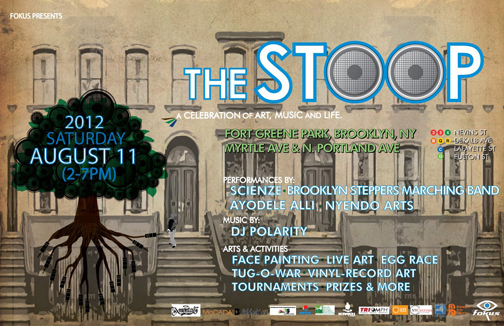The Stoop Poster Fokus