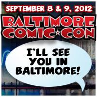 Baltimore Comic Con Promo