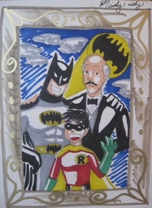 Batman Family Portrait