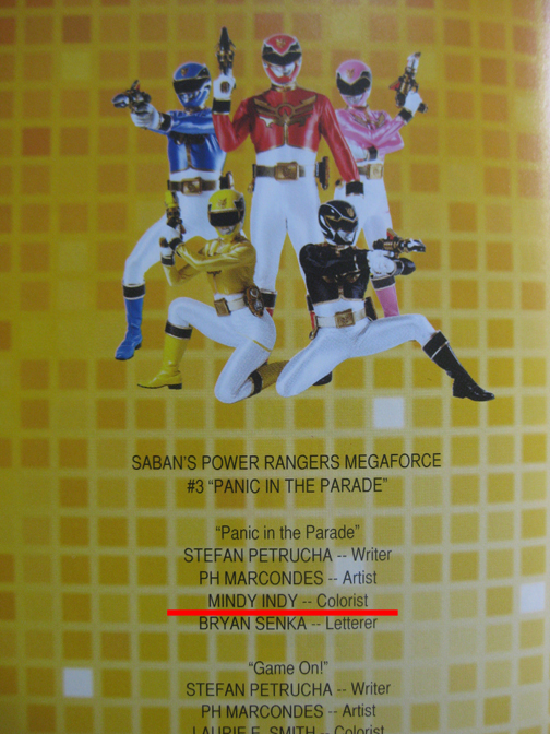 Megaforce Vol. 3 Credits