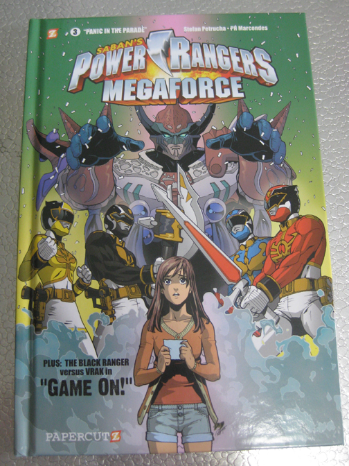 Power Rangers Megaforce Vol. 3 Cover