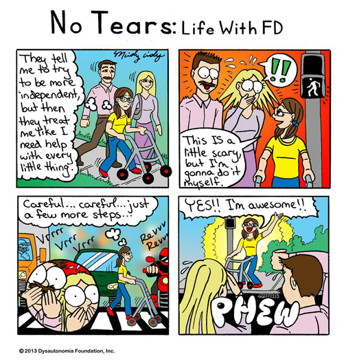 No Tears:  Life With FD