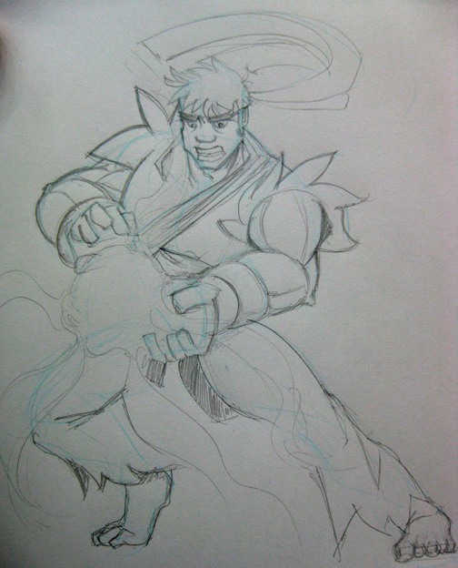 Carlos Abdu Street Fighter Ryu