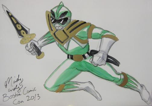 Green Ranger Mindy Indy