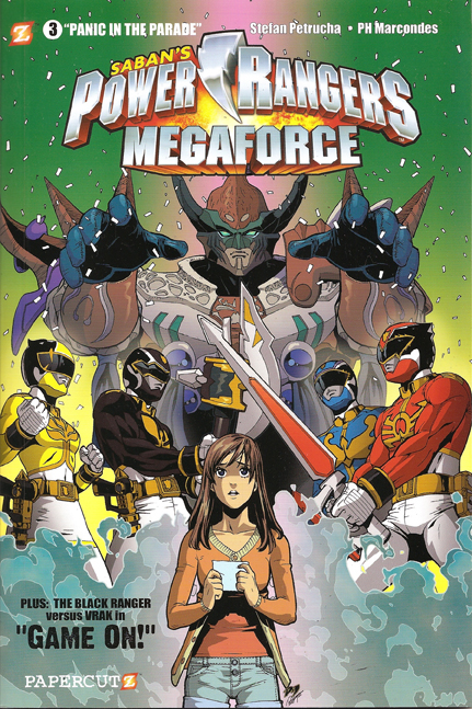 Power Rangers Megaforce Volume 3