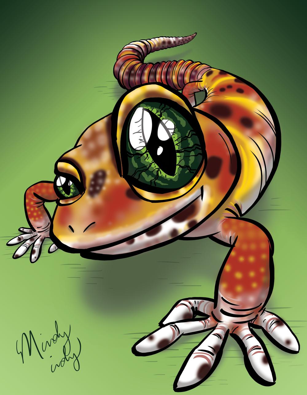 Curious Leopard Gecko!
