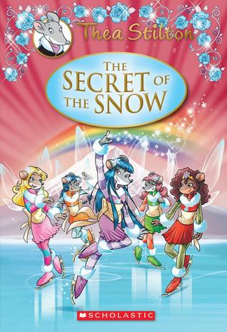 An older, but very cute, Thea Sisters cover.  They have a lot of books out!  I'll post the new cover once it's released.