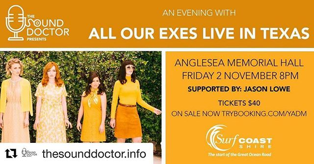 Ello ello AN EVENING WITH 🕯 Tickets are very nearly gone for this delightful show in Anglesea. Do grab the last ones and we will AngleSEE YOU THERE 🍸