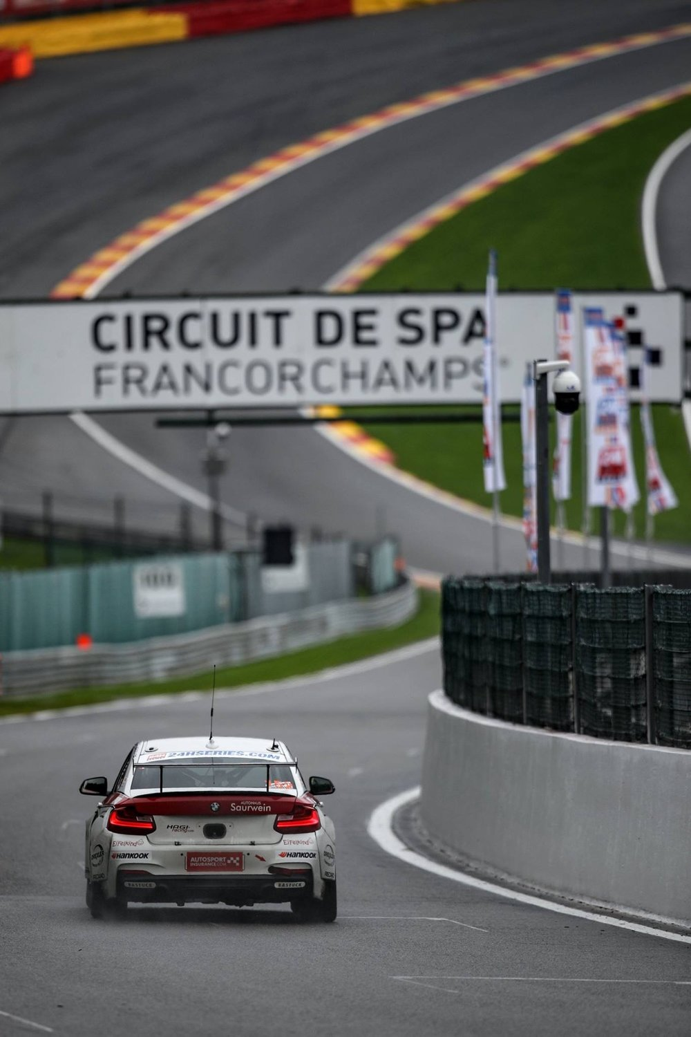 Spa Francorchamps (heading to Eau Rouge)