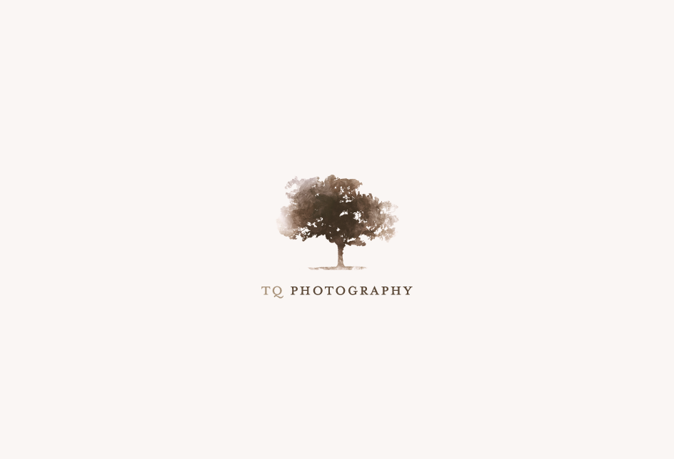 Logo for a San Francisco-based wedding photographer. Client: TQ Photography