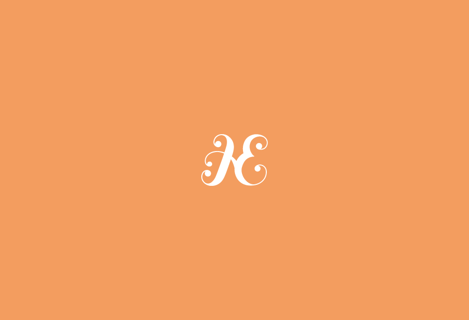 Monogram for a boutique event planning company, based in Ottawa, Canada.   Client: Hereafter Events