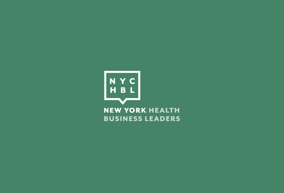 Re-design concept for an NYC-based organization   bringing together executives, entrepreneurs and physicians. Client: NYC Health Business Leaders