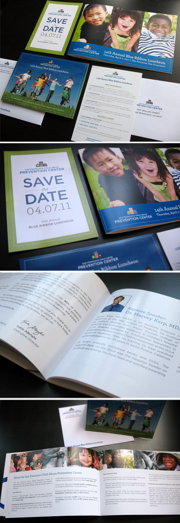 SFCAPC Luncheon Print Collateral