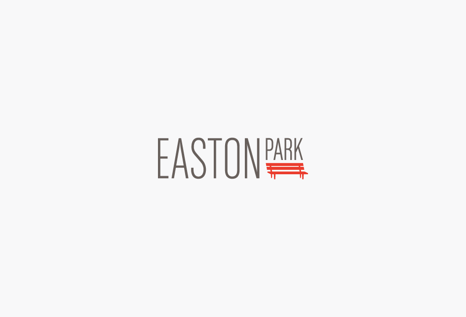 Logo for Easton Park, a park-centric mater-planned residential community in Austin, Texas.