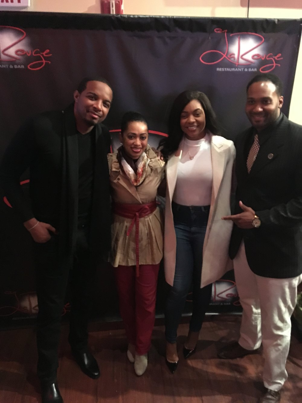 """Behind the scene Event & Day of Creative Coordinator""   Jay Morrison ""Mr. Real Estate"" 90k+ Followers       Event: Special Guest Speaker at Real Estate Meetup at LaRouge Lounge in Newark, NJ"