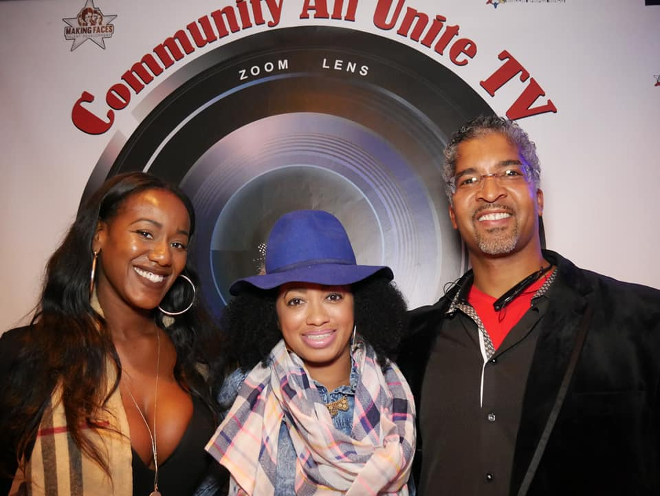 Creative Branding Vision for Community All Unite TV Launch