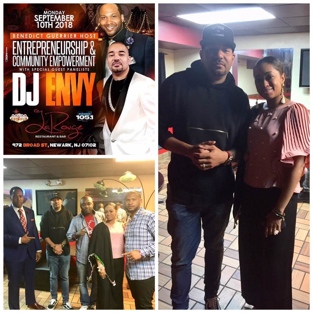 "DJ ENVY 1+ Million listeners NY Radio Show ""The Breakfast Club"""
