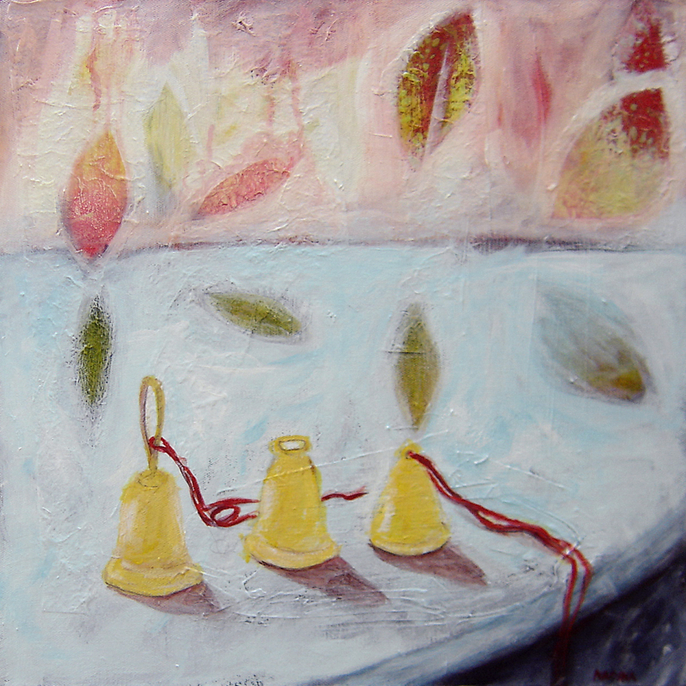 Silent Auction Painting 'Waiting Bells', 16
