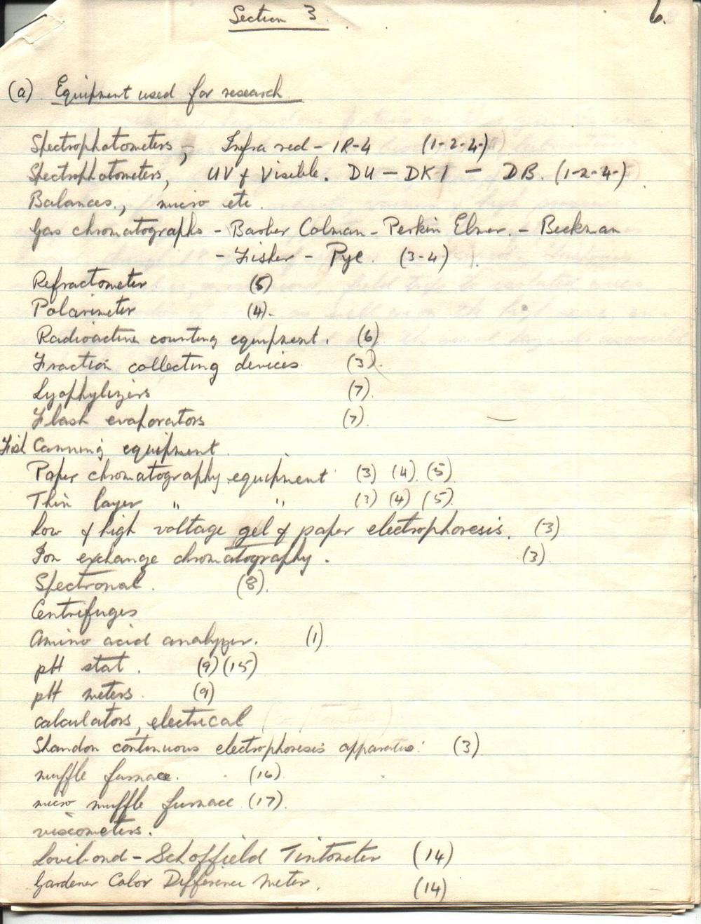Notes: A.P.Ronald