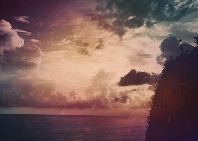 #bali #temple #uluwatu #ocean #colors #sunset