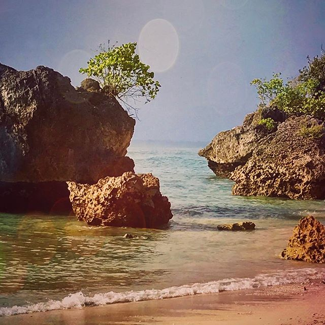 """""""Travel is not a sprint. A journey is not a marathon. Chill out and enjoy the moment."""" #duaransel #chillout #bali #moment #beach #padangpadang"""
