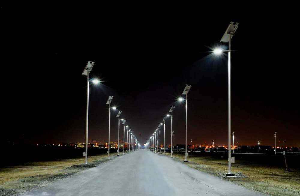 Lampada energia solare da esterno led punto luce illuminazione da