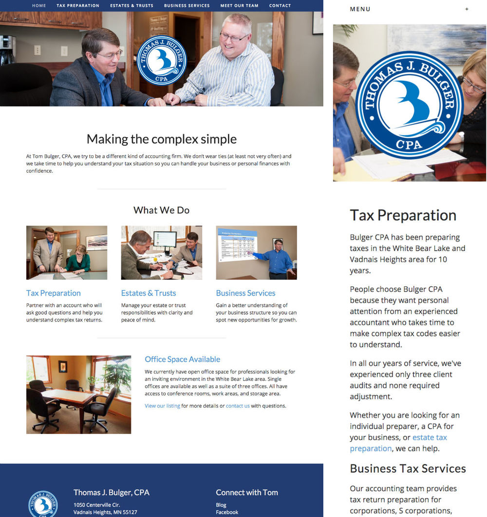 small-business-web-example-bulger-cpa