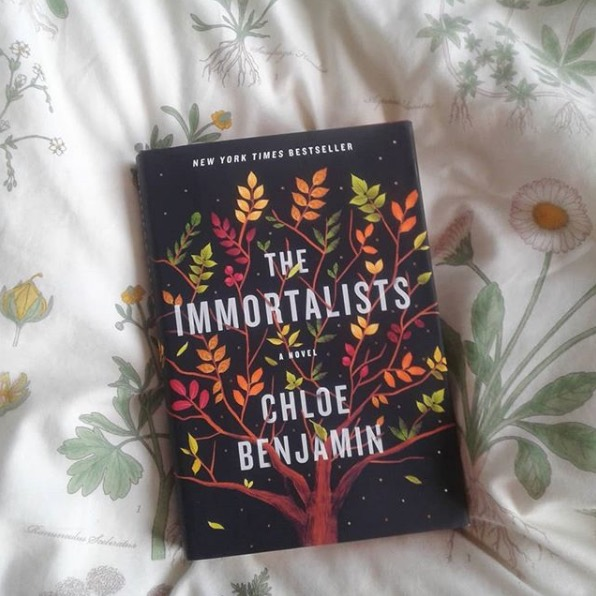 The Immortalists, Chloe Benjamin - Benjamin tells the story of the Gold children who in their youth visit a fortune teller who gives them each the date of their death. Whether the siblings fulfill, or create their prophecies, this book gives credence to the power of words and the notion that