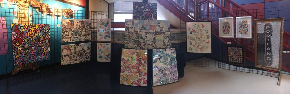 2018 Auction art now on display at BSE