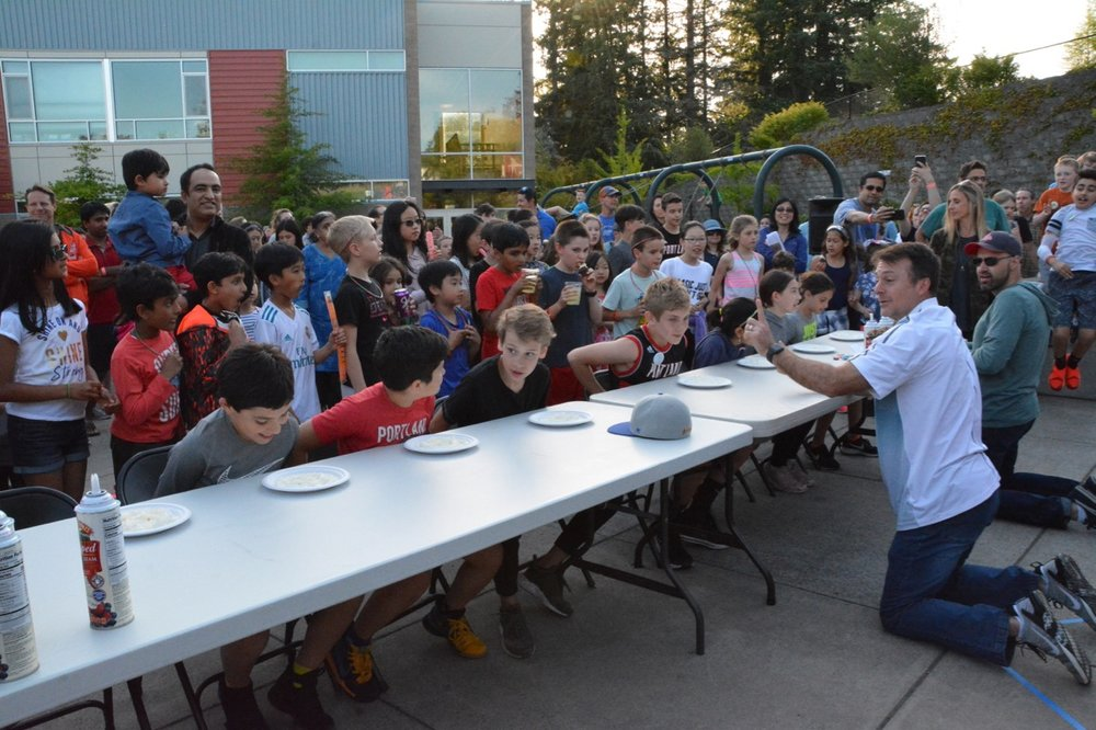 The Time-Honored Fifth Grade Pie Eating Contest