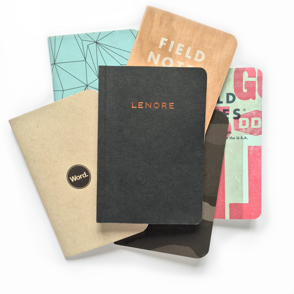 Bundles won't necessarily include the notebooks pictured.