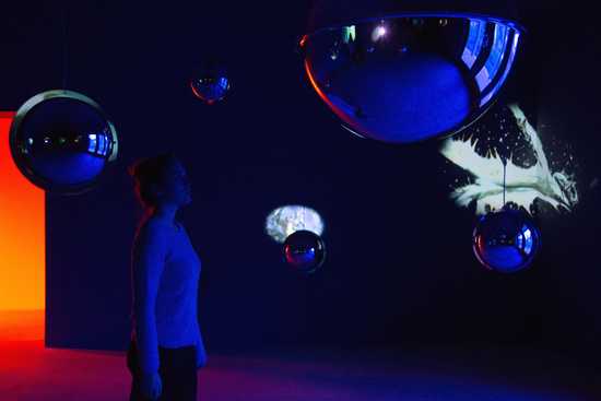Pipilotti Rist Sleeping Pollen 2014 Installation view Represented by Hauser & Wirth Somerset, England