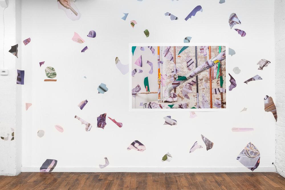 Pop-Up Exhibition: Robert Chase Heishman , LATITUDE (Chicago, IL), installation view