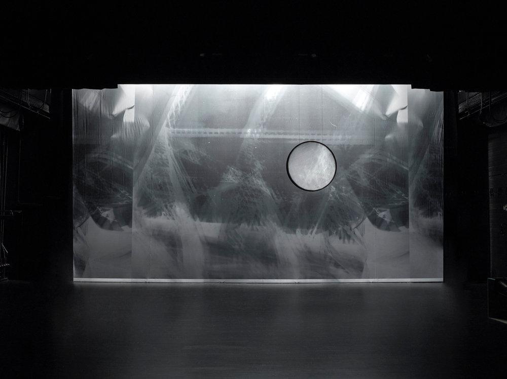 etc , décor for Merce Cunningham Dance Company's  Split-Sides , 2003 For more information:  https://www.mercecunningham.org/the-work/choreography/split-sides/