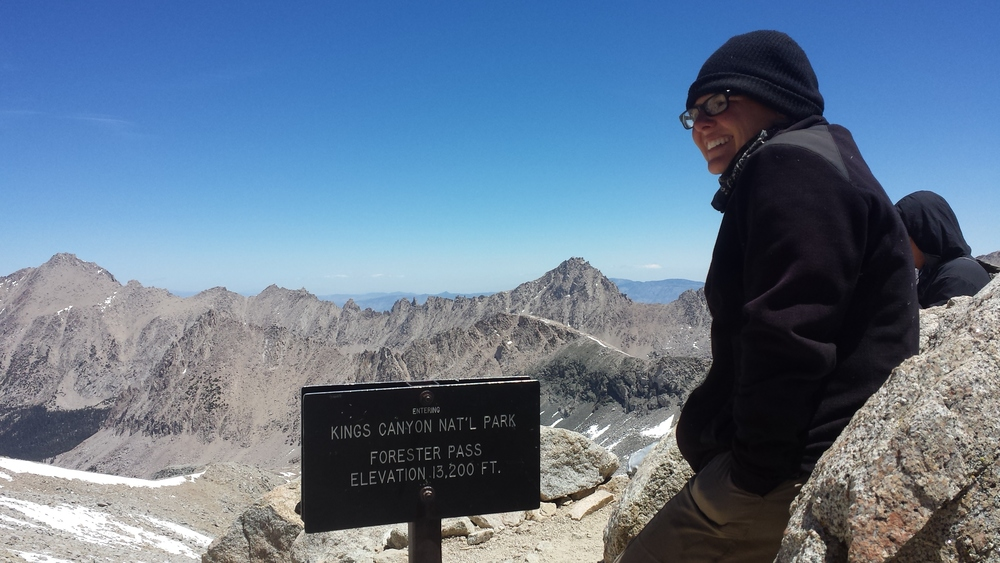 One of the highlights of the Pacific Crest Trail, Forester Pass.