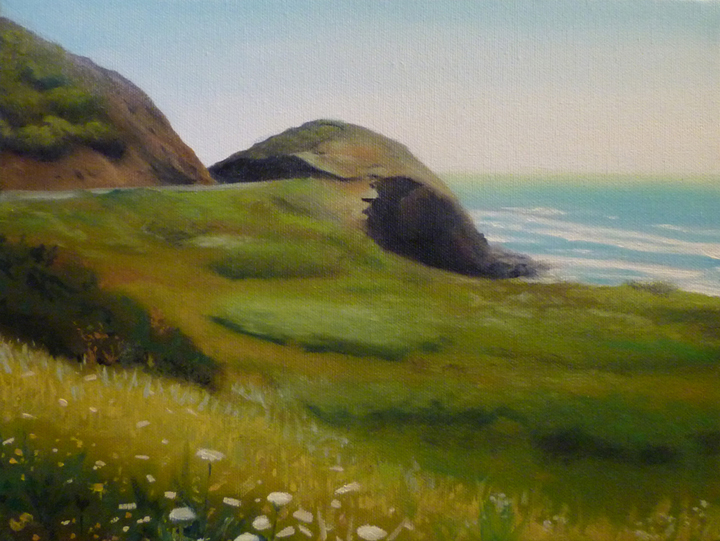 Coast/ 2010/ oil on canvas/ 9 x 12 inches