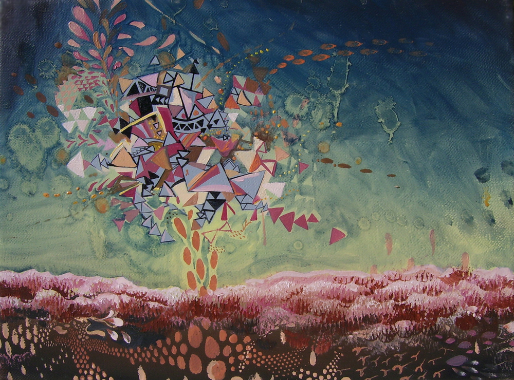 The Hatchery / 2007 / oil on canvas/ 9 x 12 inches