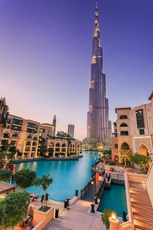 The granduer of Dubai