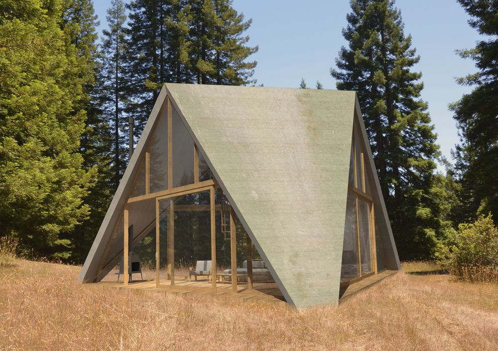 Pyramid House Ryan Leidner Architecture