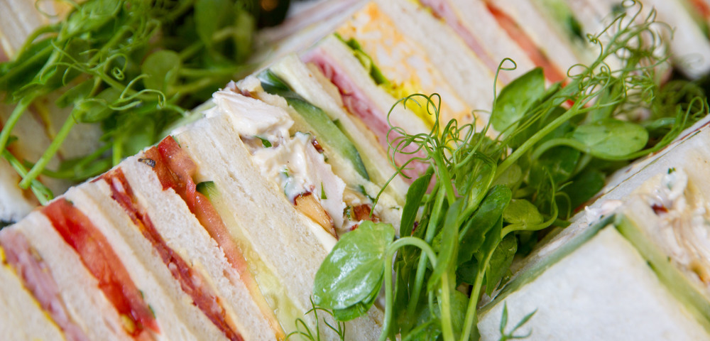 Super popular club sandwiches.