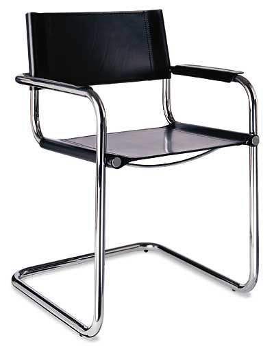 Marcel Breuer B34 Cantilever Style Chairs Set of 6 AVA BERLIN