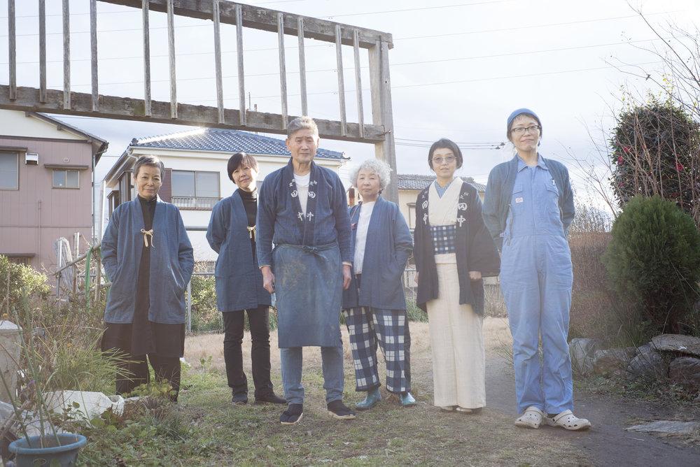 "七緒 vol.49 春号""田中昭夫の藍仕事""  "" http://www.president.co.jp/nanaoh/"