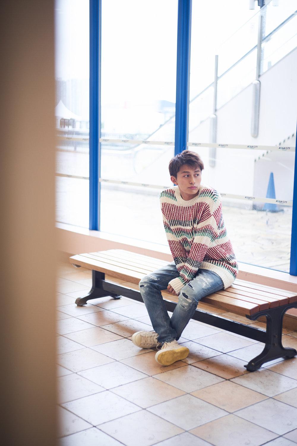 """小林豊 by """"BOYS AND MEN""""  Audition blue (オーディション ブルー) 2018年8月号"""