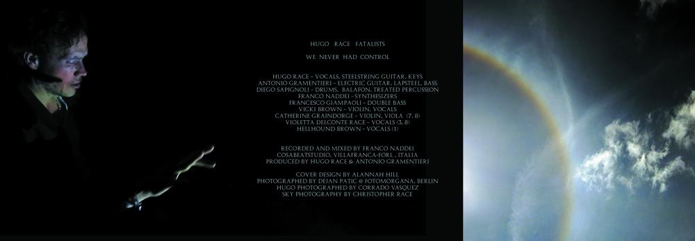 Hugo Race Fatalists - We Never Had Control (CD 2013, RVR02/IBR013CD ...