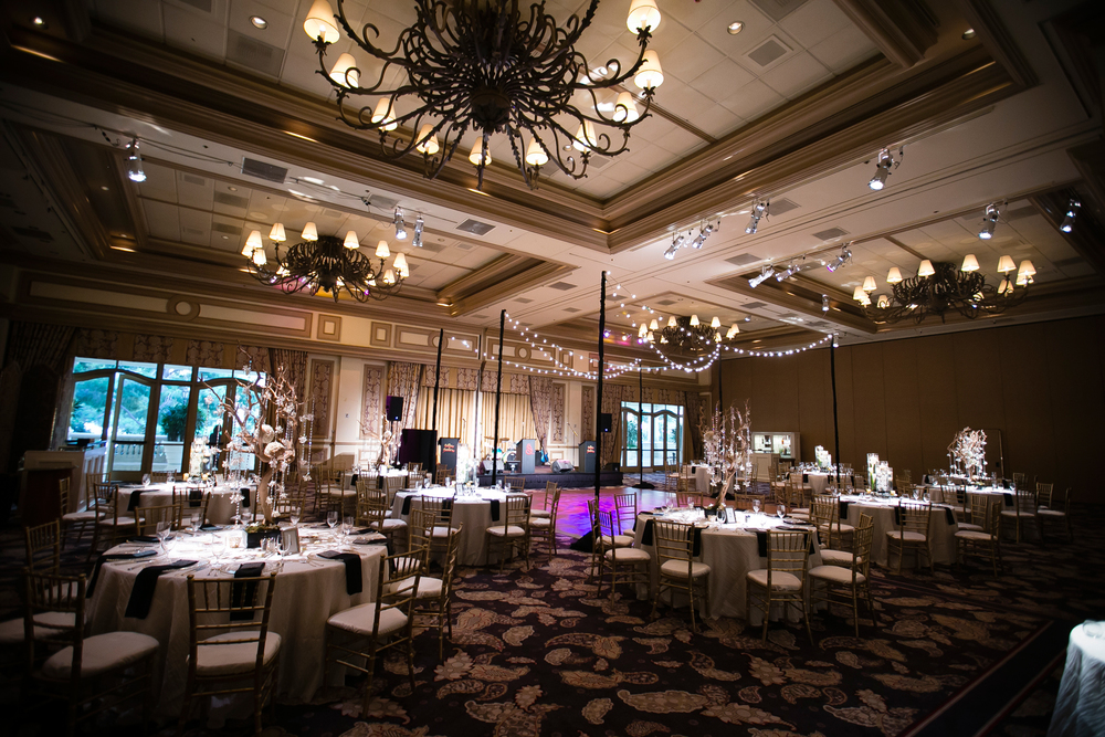 The Monet Ballroom at Bellagio Las Vegas Wedding.