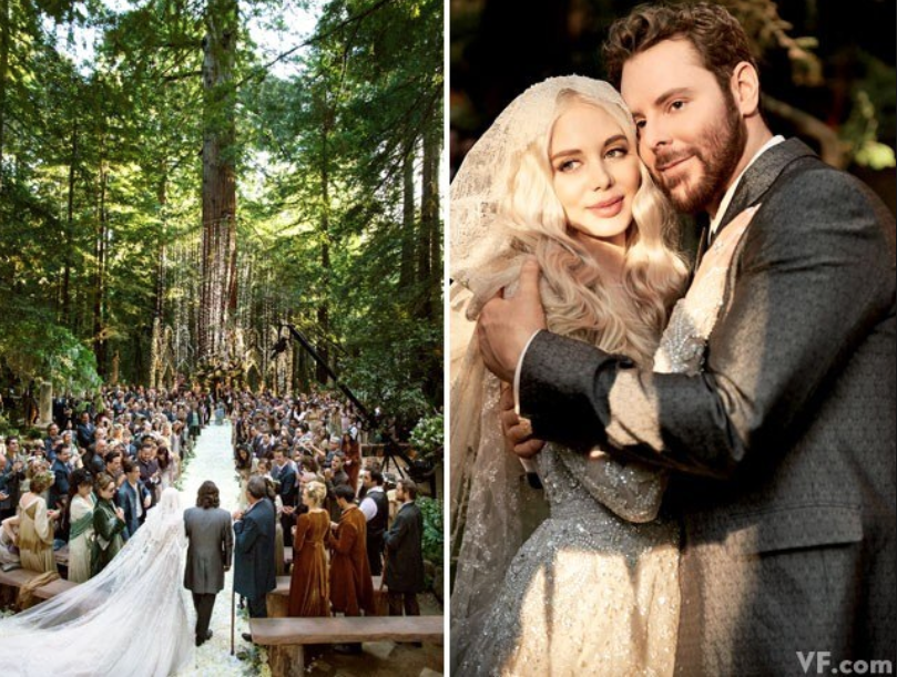 Sean Parker Wedding Photo Courtesy of Vanity Fair.