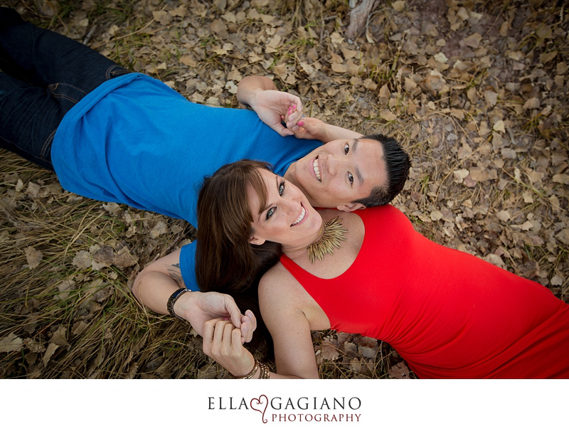 Michelle & Michael's engagement photos at Spring Mountain Ranch.