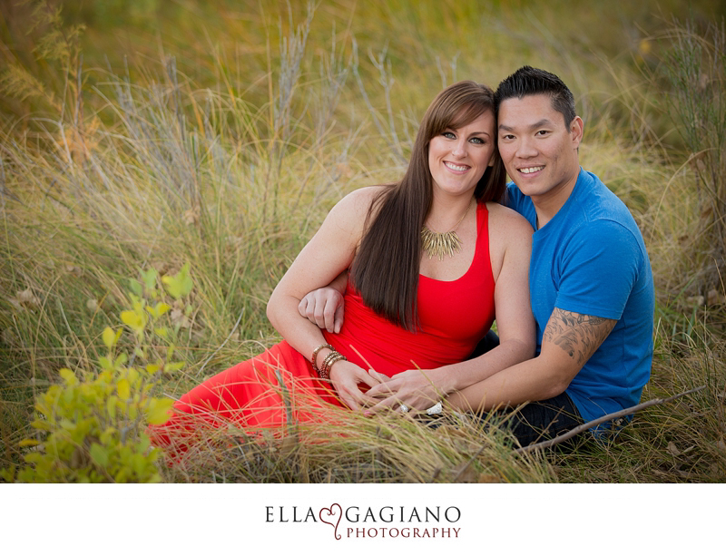 iMichelle & Michael's engagement photos at Spring Mountain Ranch.
