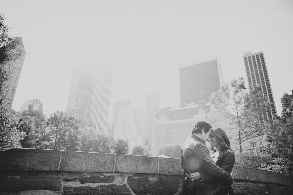 Jess & Juan - Central Park Engagement Photos.